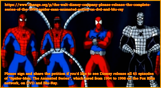 Spider-Man Cartoon Fan Site